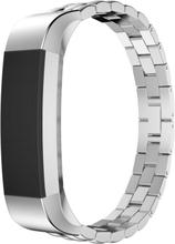 Fitbit Alta treperlet klokkereim av rustfritt stål - Sølv