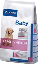 Virbac Veterinary HPM Baby Dog Large & Medium Friskfoder till valpar /stora raser. 12kg.
