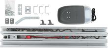 vidaXL Garageportsöppnare med fjärrkontroller och LED 650 N 2,24 m