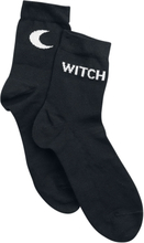 Pamela Mann - Witch & Moon Socks -Sokker - svart, hvit