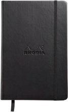 RHODIA WEBNOTEBOOK A5 DOT BLACK notepad 192 pages