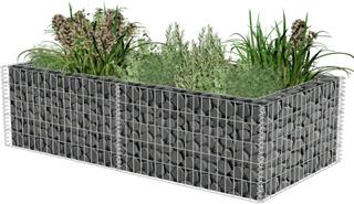 vidaXL gabion-plantekasse 180 x 90 x 50 cm