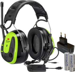 3M Peltor WS Alert XPI Hörselskydd Bluetooth med hjässbygel, laddpaket