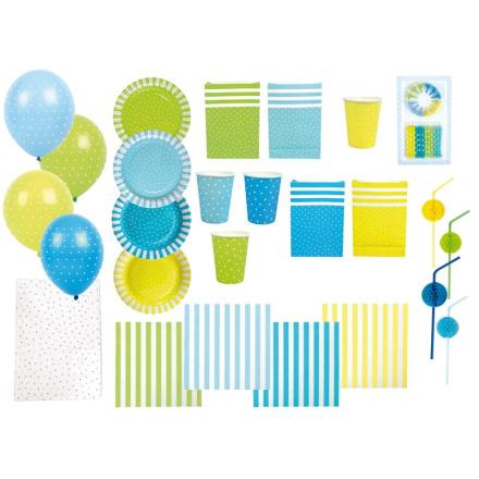 JabadabadoStor Partypakke, Blå