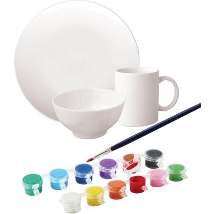 Oliver & KidsMal dekkesett i porselen, 3 deler