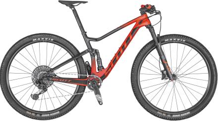 "Scott Spark RC 900 Team 29"" Mountainbike Karbon, SRAM GX Eagle 12-delat, 11,5 kg"