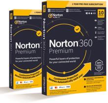 Norton 360 Premium 2020 - 10 enheter