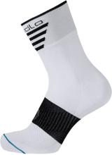 Odlo Socks Short Cycling Mid Unisex Träningsstrumpor Vit 39-41