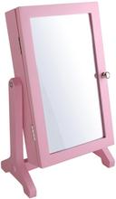 Dacapo Smyckesskåp Med Spegel Rosa