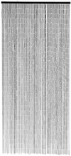 Nordal Verho bambu 200 x 90 cm, musta