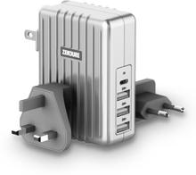 Zendure 45W 4-Port USB-C PD Wall Charger Laddare Grå OneSize
