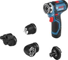 Bosch GSR 12V-35 FC 2x3,0 4xBOR L-BOXX