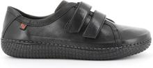 Green Comfort Sneaker Velcro Black