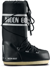 Moon Boot Moon Boot Nylon Dame fôrede støvler Sort 23-26