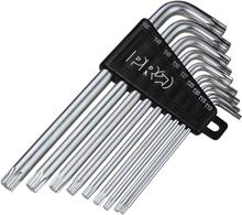 PRO Torx-nyckelset T10/T15/T20/T25/T30/T40/T45/T50