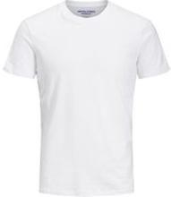 JACK & JONES Ss Tee Enkel Rundringad 5-pack Ka T-shirt Man White
