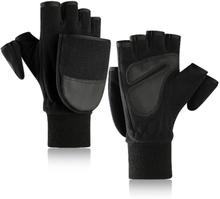 Die Flip-Bag der neuen Saison-Fleece-warmen Handschuh-Männer bezieht sich auf Plus Thick Outdoor Loupe Finger Touch Screen