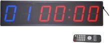 TITAN LIFE Digital Clock Incl. Remote (6 digits)