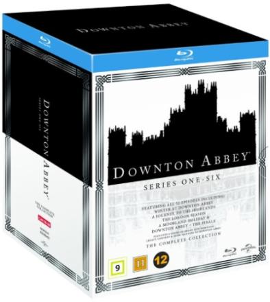Downton Abbey: Complete Box - Sæson 1-6 (Blu-ray) (22 disc)