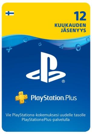 PlayStation® Plus: 12 Kuukauden Jäsenyys (Finland)