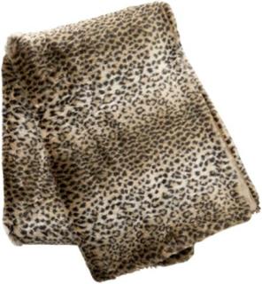 Cellbes Pälspläd i leopard Leopard