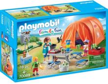 - Family Fun - Campingtur med stort tält