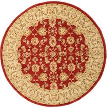 Ziegler Kaspin - Röd matta Ø 200 Orientalisk, Rund Matta