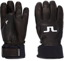 J.LINDEBERG Bridge Leather Gloves Man Svart