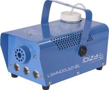 Ibiza Rökmaskin med eld/lågeffekt - Blå