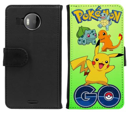 Microsoft Lumia 950XL Plånboksfodral Pokemon Go - CDON.COM