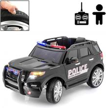 Rull Elbil - Police Force 12V - Svart