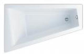 Ifö Acryllic badekar 1600 x 1000/500 mm asymmetrisk venstreBeskrivelse Ifö Acryllic badekar 1600 x 1000/500 mm asymmetrisk venstre