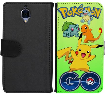 OnePlus 3 / 3T Plånboksfodral Pokemon Go - CDON.COM