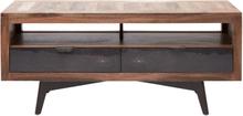 TV-möbel Freja - Vintage (svart lådfront)