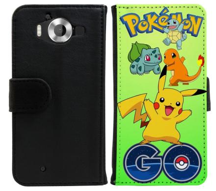 Microsoft Lumia 950 Plånboksfodral Pokemon Go - CDON.COM