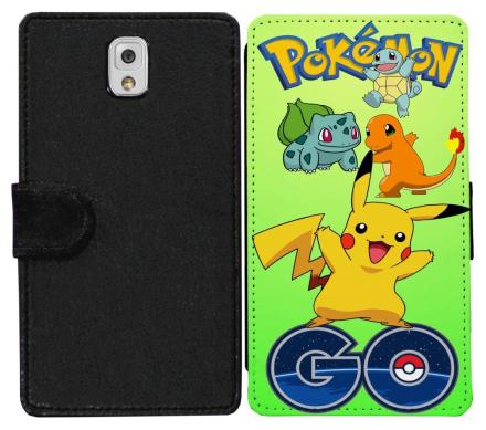 Samsung Galaxy Note 3 Plånboksfodral Pokemon Go - CDON.COM
