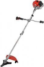 Bensindriven grästrimmer / röjsåg med justerbart skaft - 43 cc