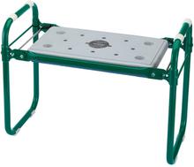 Draper Tools Trädgårdsknäskydd och pall järn grön 64970
