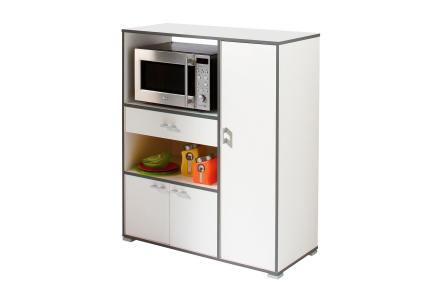 MUSKOT Kjøkkenoppbevaring 90 Hvit -