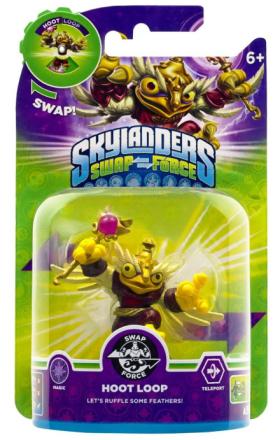 Skylanders Swap Force: Hoot Loop (Shapeshifter) (Magi) /Leksaker för spel