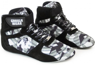 Gorilla Wear Perry High Tops Pro - Black/Grey Camo