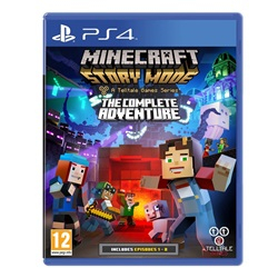 Minecraft - Story Mode: The Complete Adventure /PS4 - wupti.com
