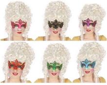 Venetiansk ögonmask Glitter