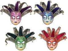 Venetiansk karnevalmask Skallra