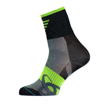 Odlo Socks Short Cycling Mid Unisex Träningsstrumpor Svart 39-41