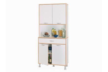 TIMJAN Kjøkkenoppbevaring 83 Hvit -