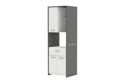 ALMOND Kjøkkenoppbevaring 60 Hvit/Grå -