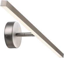 Nordlux IP S13 Væglampe, 60 cm, Børstet stål