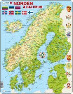 Larsen: Rampussel - Karta, Norden & Baltikum (75)