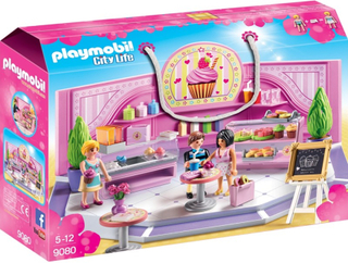 Playmobil9080 Muffinbutik